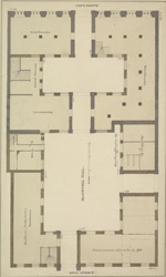 [Plan of Blackwell Hall, King Street & Basinghall Lane]